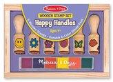 Melissa & Doug Happy Handle Stamp Set Arts & Crafts Kit