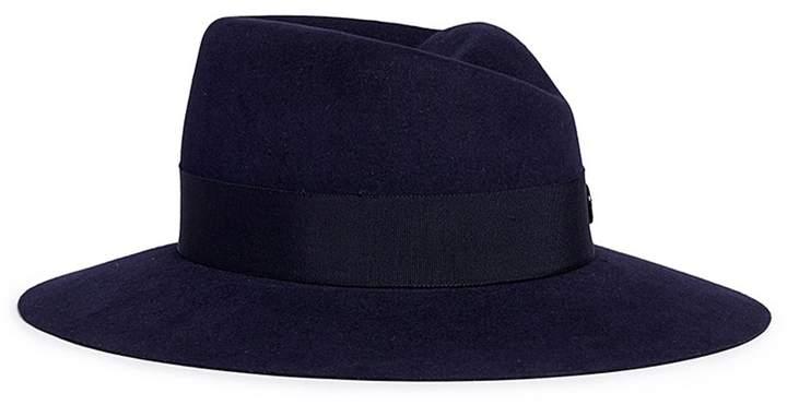 Maison Michel 'Virginie Timeless' rabbit furfelt fedora hat