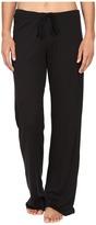 Yummie by Heather Thomson 2x1 Pima Rib Wide Leg Pants Women's Casual Pants