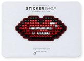Anya Hindmarch Lips Crystal Sticker for Handbag, Red
