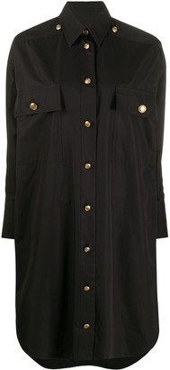 Givenchy High-Low Shirt Dress