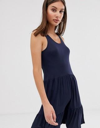 Only swing dress-Navy
