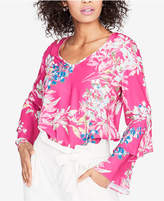 Rachel Roy Ruffled-Sleeve Top, Created for Macy's