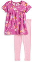 Tea Collection Toddler Girl's Southern Wonders Tunic & Leggings