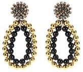 Marni Embellished Clip-on Earrings