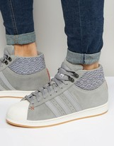 adidas Pro Model BT Sneakers In Gray AQ8160