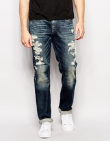 True Religion Jeans Geno Rough City Wash