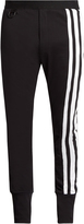 Y-3 Striped jersey track pants