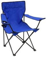 Mac Sports Bazaar Folding Arm Chair - Blue