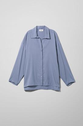 Weekday Aida Shirt - Blue