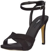 Blink Women's Bdayna-lowL Open Toe Sandals Black Size: 6