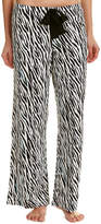 Hue Cozy Zebra Pajama Pant