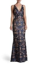 Dress the Population Women's Karen Mermaid Gown