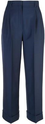 Fendi Pleated Wool Trousers