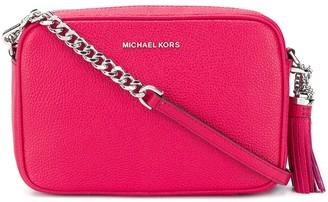 MICHAEL Michael Kors Ginny pebbled crossbody bag