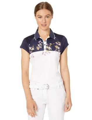 PGA Tour TOUR Women's Cap Sleeve Polo Shirt
