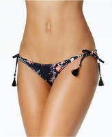 Bar III Reversible Side-Tie Bikini Bottoms, Created for Macy's
