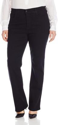 NYDJ Women's Plus Size Marilyn Straight Leg Jeans
