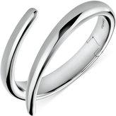 Calvin Klein embrace Stainless Steel Bypass Hinge Bangle Bracelet KJ2KMD00010M