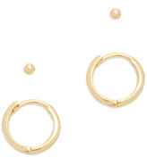 Tai Ball & Hoop Stud Earring Set