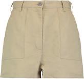 MAISON KITSUNÉ Jane cotton and linen-blend shorts