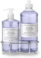 Williams-Sonoma Williams Sonoma French Lavender Hand Soap & Dish Soap, Classic 3-Piece Set