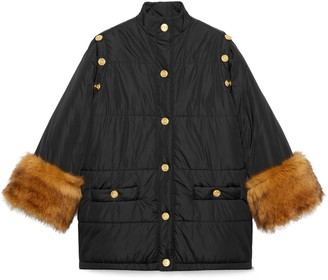 Gucci Nylon jacket with detachable sleeves