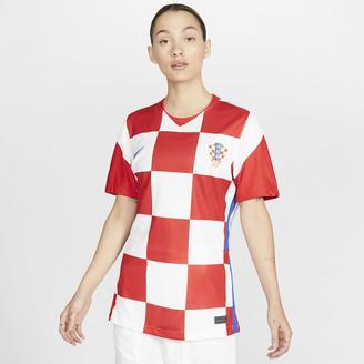 Nike Women's Soccer Jersey Croatia 2020 Stadium Home
