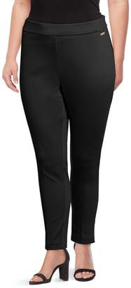 Calvin Klein Plus Classic Pull-On Pants
