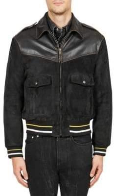 Givenchy Full-Zip Varsity Jacket