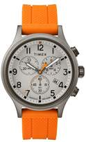 Timex R) Allied Chronograph Silicone Strap Watch, 42mm