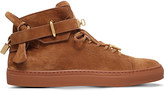 Buscemi 100mm suede high-top trainers