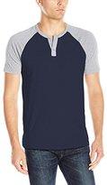 Lucky Brand Men's Grey Label Ss Baseball Shirt