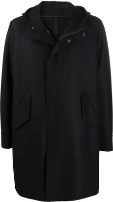 Harris Wharf London Hooded Wool Coat