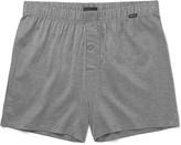 Hanro - Striped Mercerised Cotton Boxer Shorts