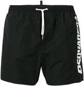 DSQUARED2 side logo swim trunks - men - Polyester - 52