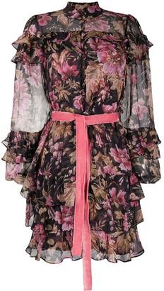 Zimmermann Lucky tiered frill mini dress