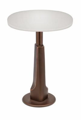 Stiffel Pedestal End Table