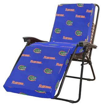 College Covers NCAA Florida Gators Indoor/Outdoor Chaise Lounge Cushion