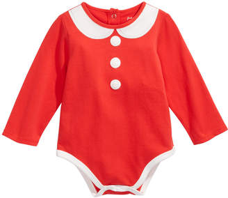 First Impressions Baby Girls Mrs. Claus Bodysuit