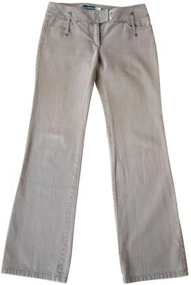 Sportmax Beige Cotton Jeans for Women