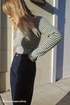 Urban Outfitters Shilo Off-The-Shoulder Striped Sweater