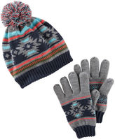 Osh Kosh Hat & Gloves Set