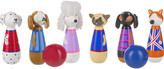 Orange Tree Toys Puppy Love wooden skittles