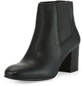 Pedro Garcia Xolani Leather Ankle Boot, Black Kripton