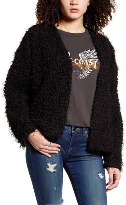 Socialite Cozy Shaggy Jacket