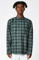 Obey Stratford Plaid Flannel Long Sleeve Button Up Shirt