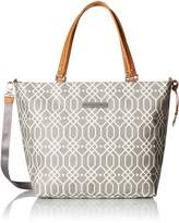 Petunia Pickle Bottom Altogether Tote Diaper Bag in Quartz Grey by