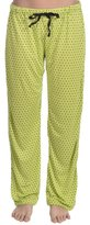 Just Love Women's Polka-dot Soft Silk Pajama Lounge Pants