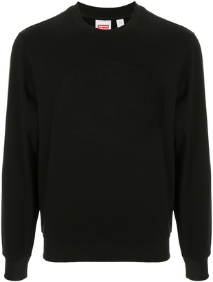 Supreme x Lacoste Pique crew neck sweatshirt